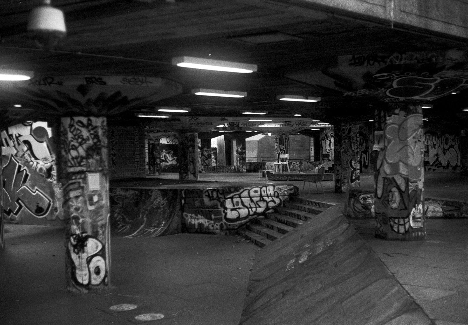Skate area in London