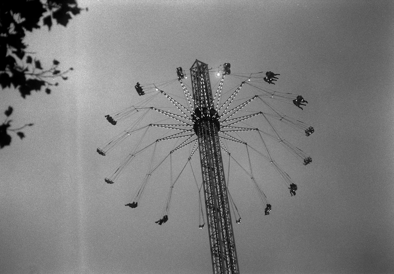 Tall fairground ride