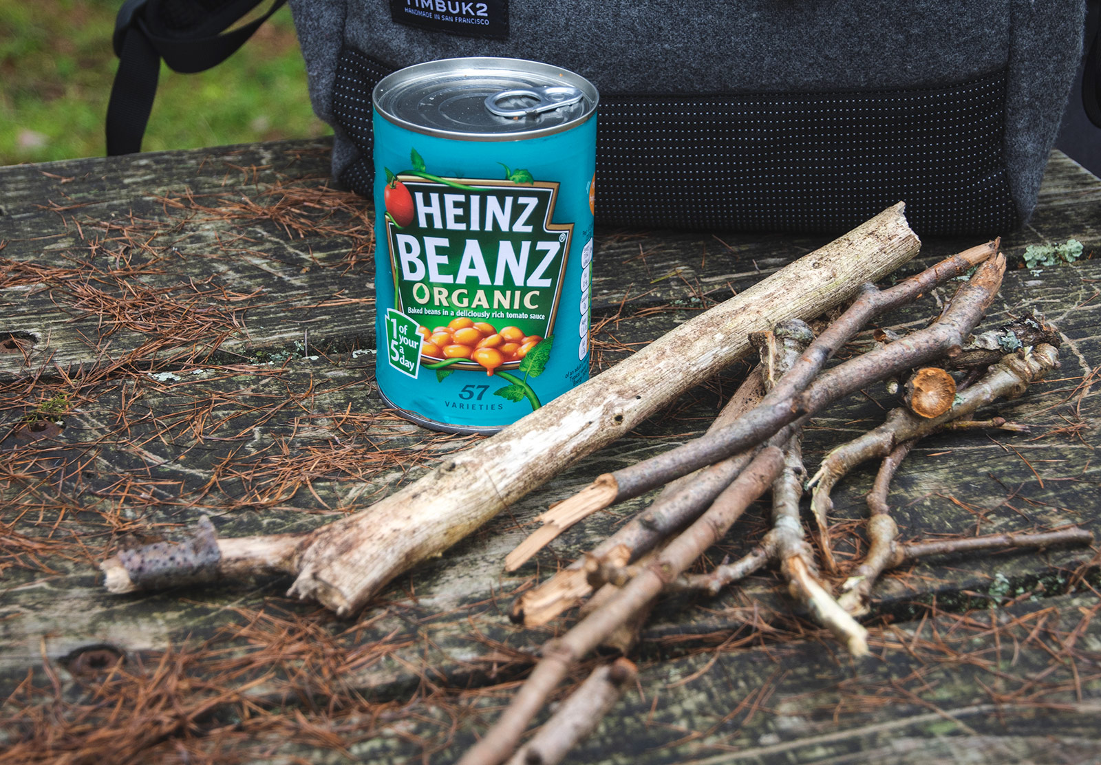 Beans and twigs