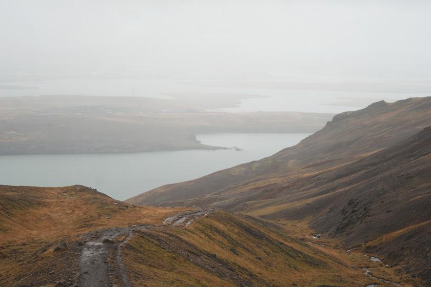 View towards Reykjavík