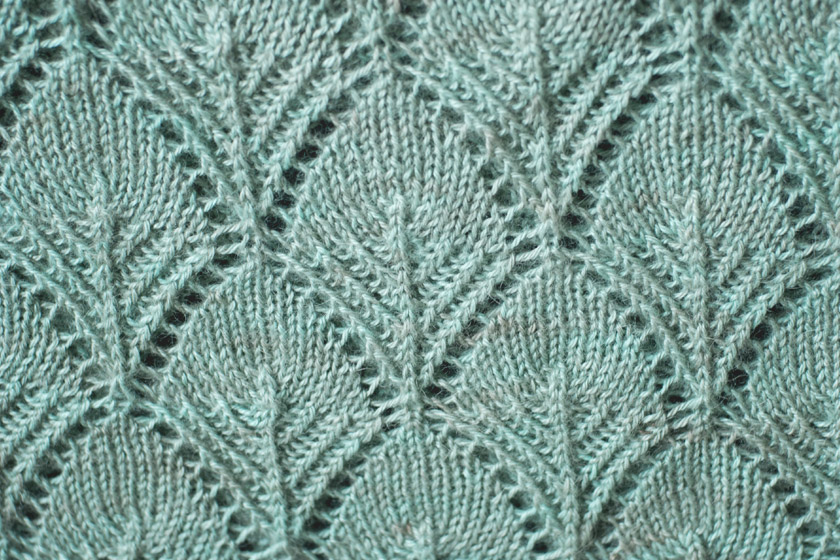 Closeup of Fantoosh pattern