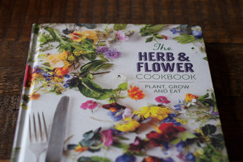 Herb and flower cookbook