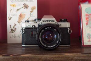 Olympus CM10 on shelf