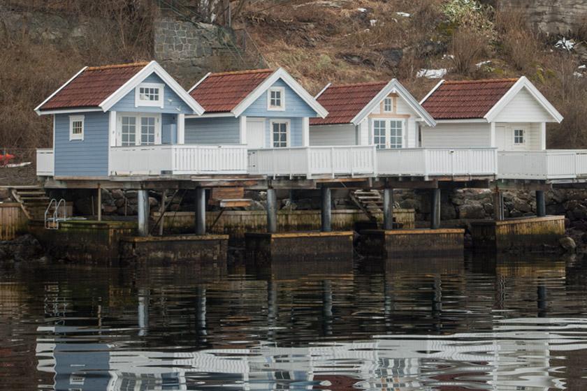 Norwegian wooden houses