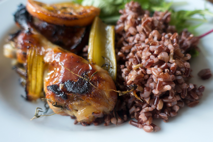 Golden chicken and rice