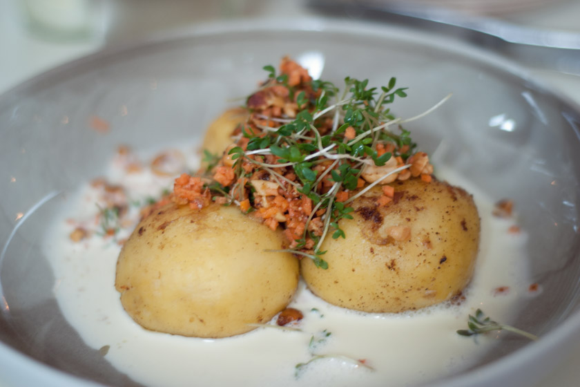 Swedish potato dumplings