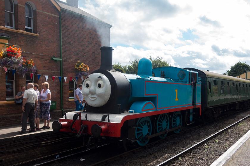 Thomas steam train