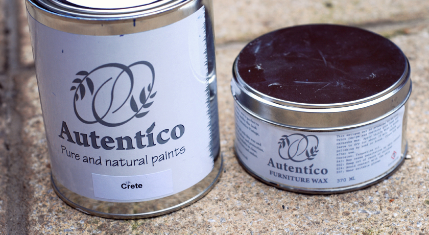 Autentico chalk paint and furniture wax