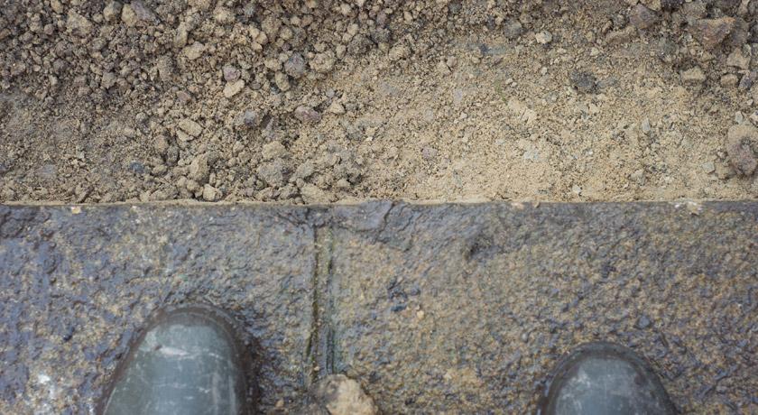 Square paving edges