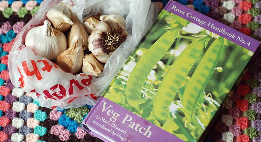 Garlic and veg book
