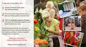My Interflora Garden competition graphic