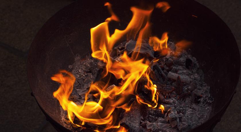 Fire in a Kadai