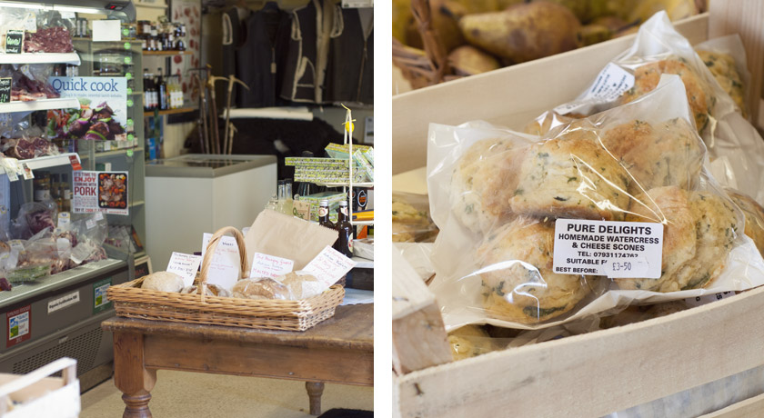 Mill Farm shop interior