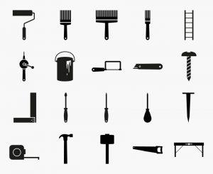 Noun Project icon design - DIY set