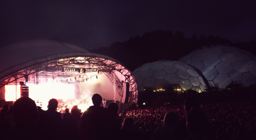 Sigur Ros stage at the Eden Project