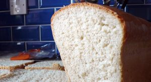 Fresh tin loaf