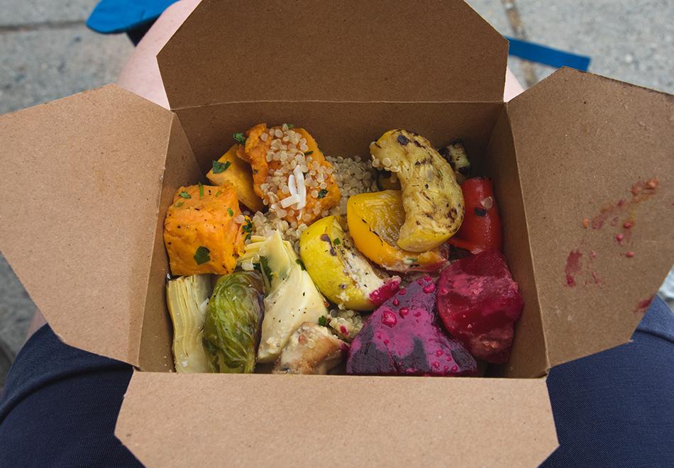 Box of salad