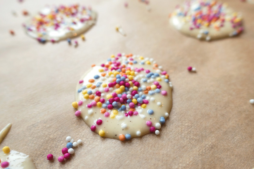 White chocolate jazzies