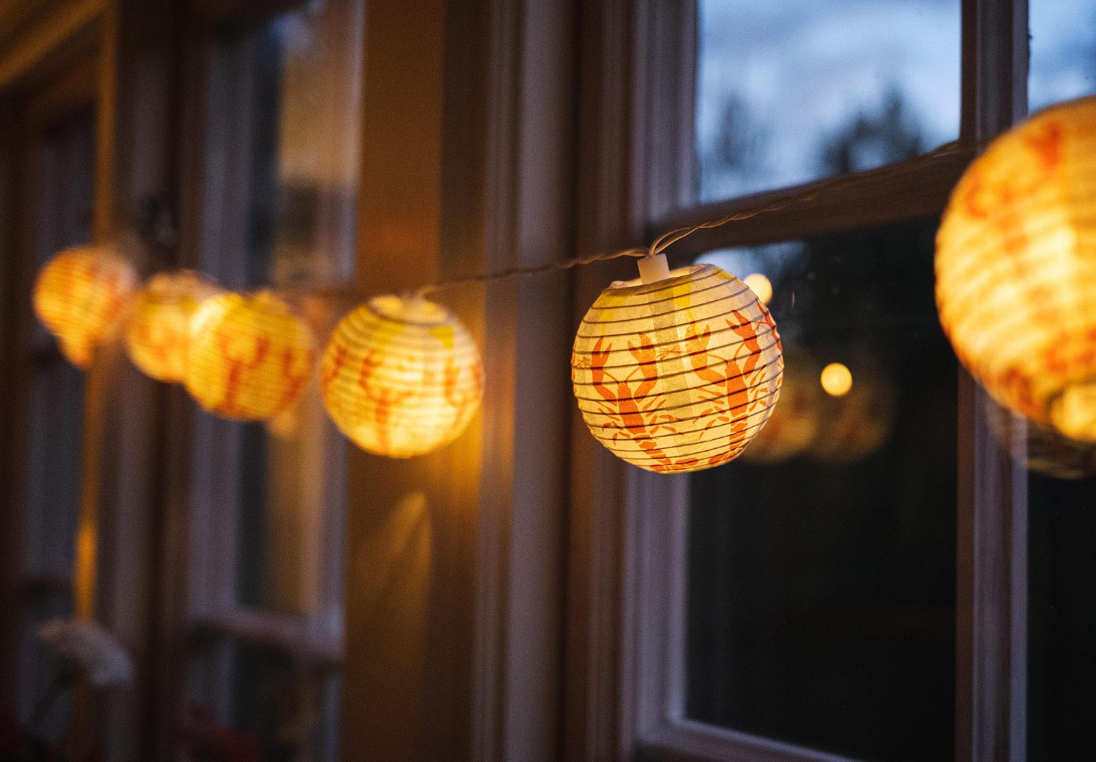 Crayfish lanterns