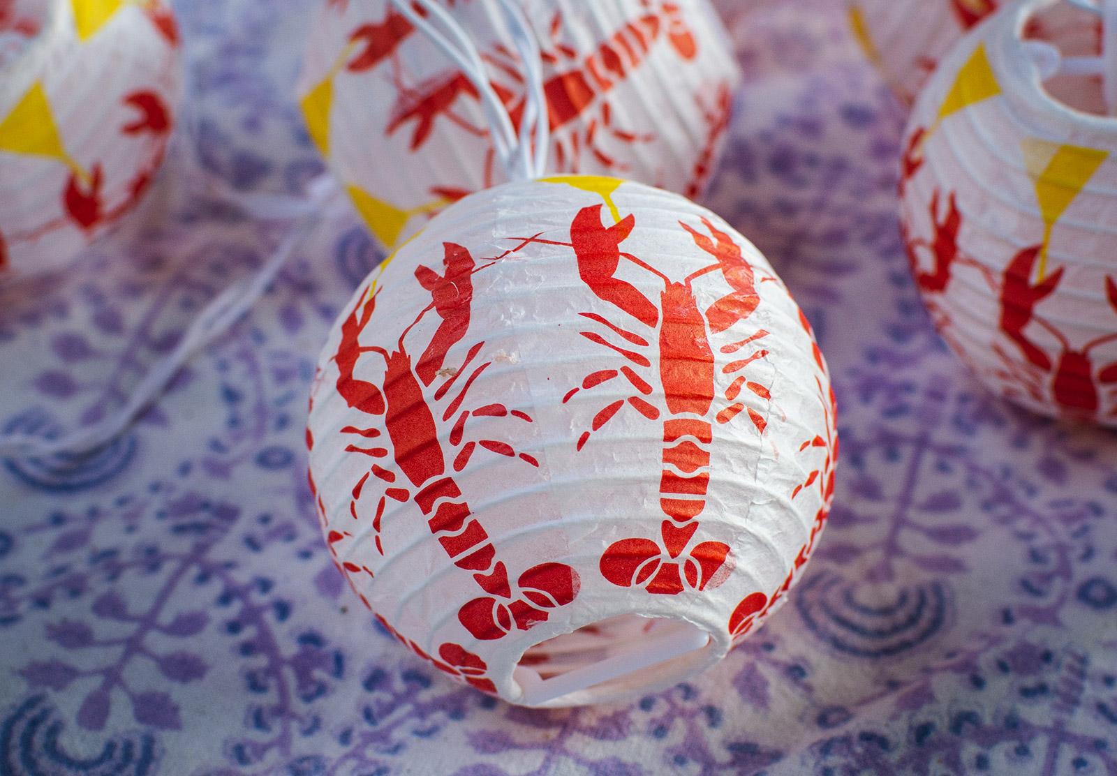 Crayfish lantern