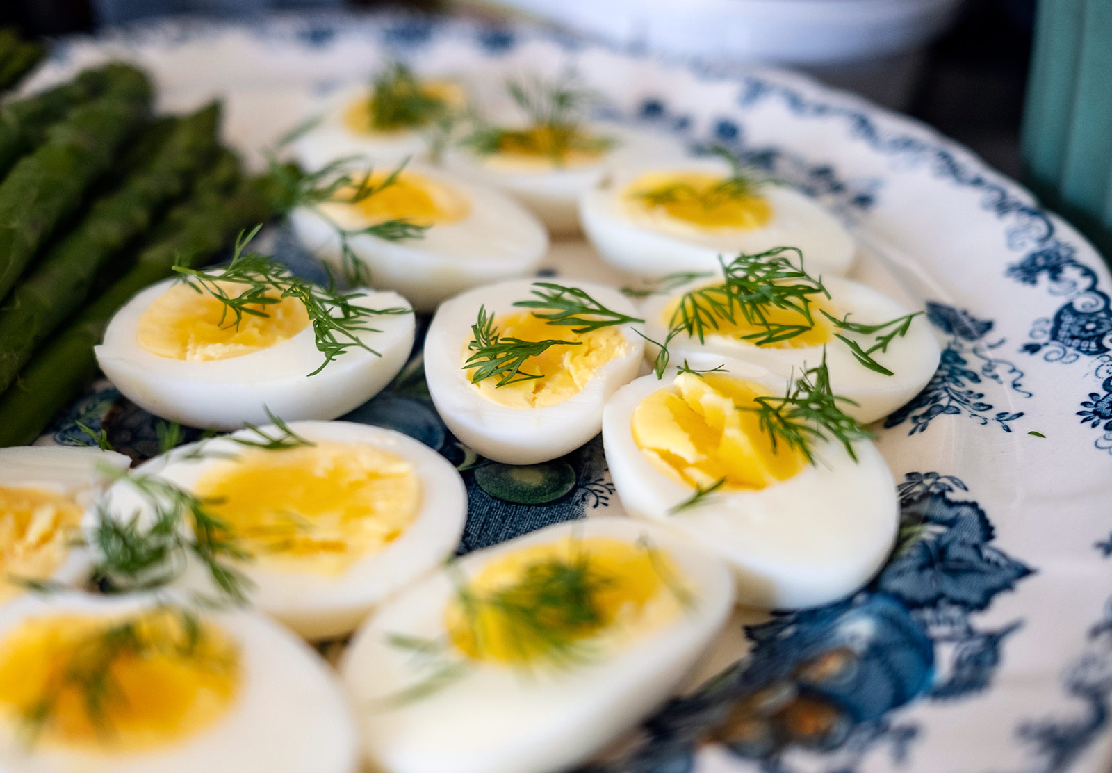 Plate of eggs