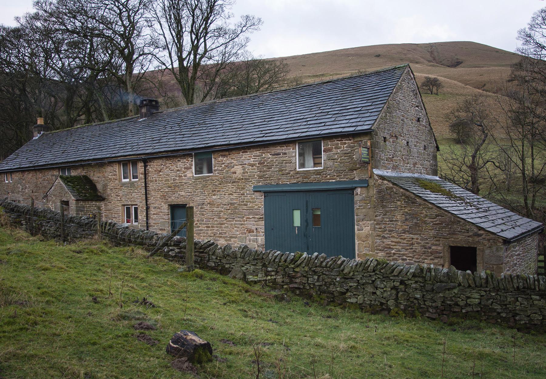 Yellow stone cottage
