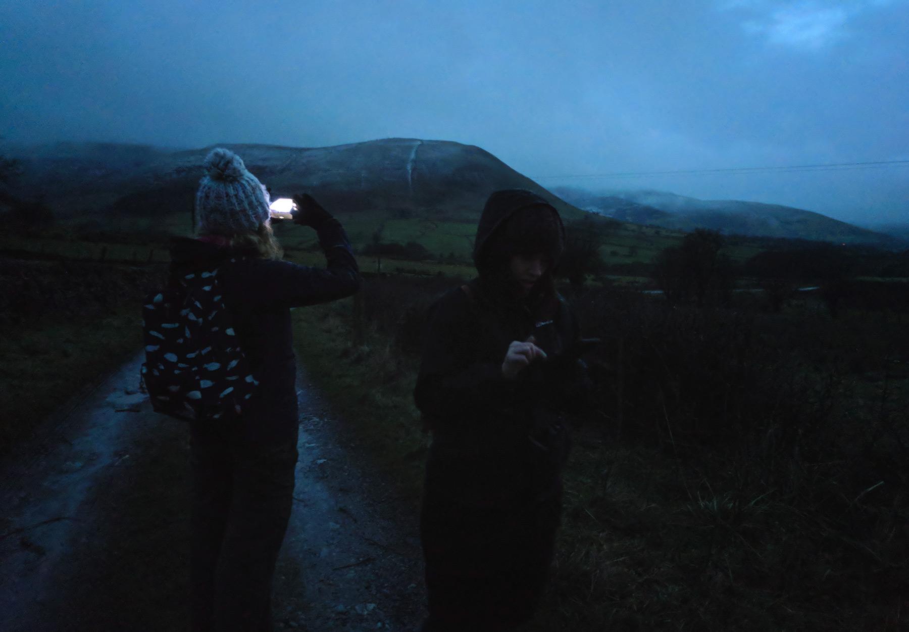 Figures in the dark