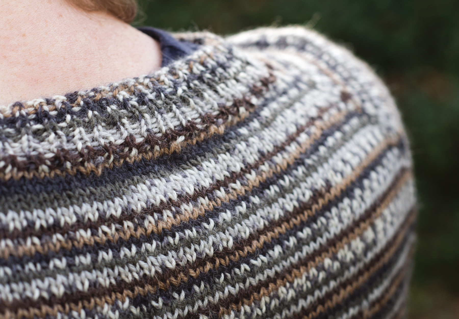 Closeup of ribbing