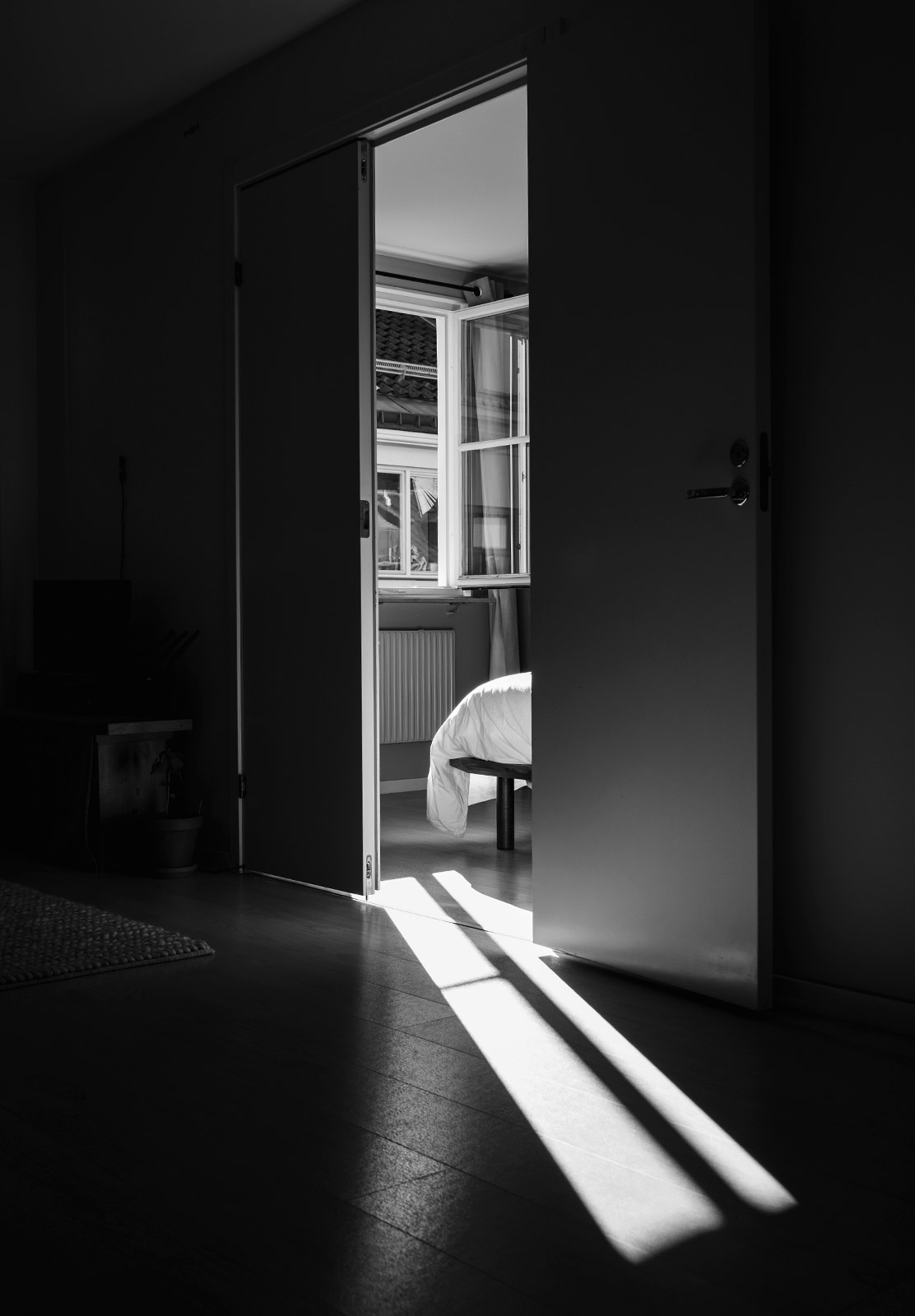 Light on floor