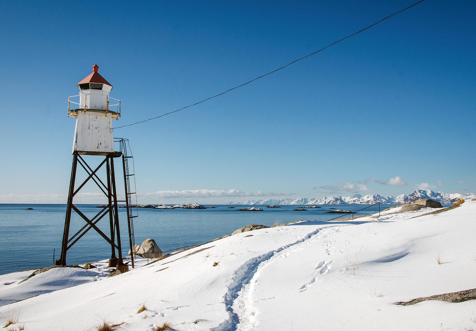 Lighthouse on stilts