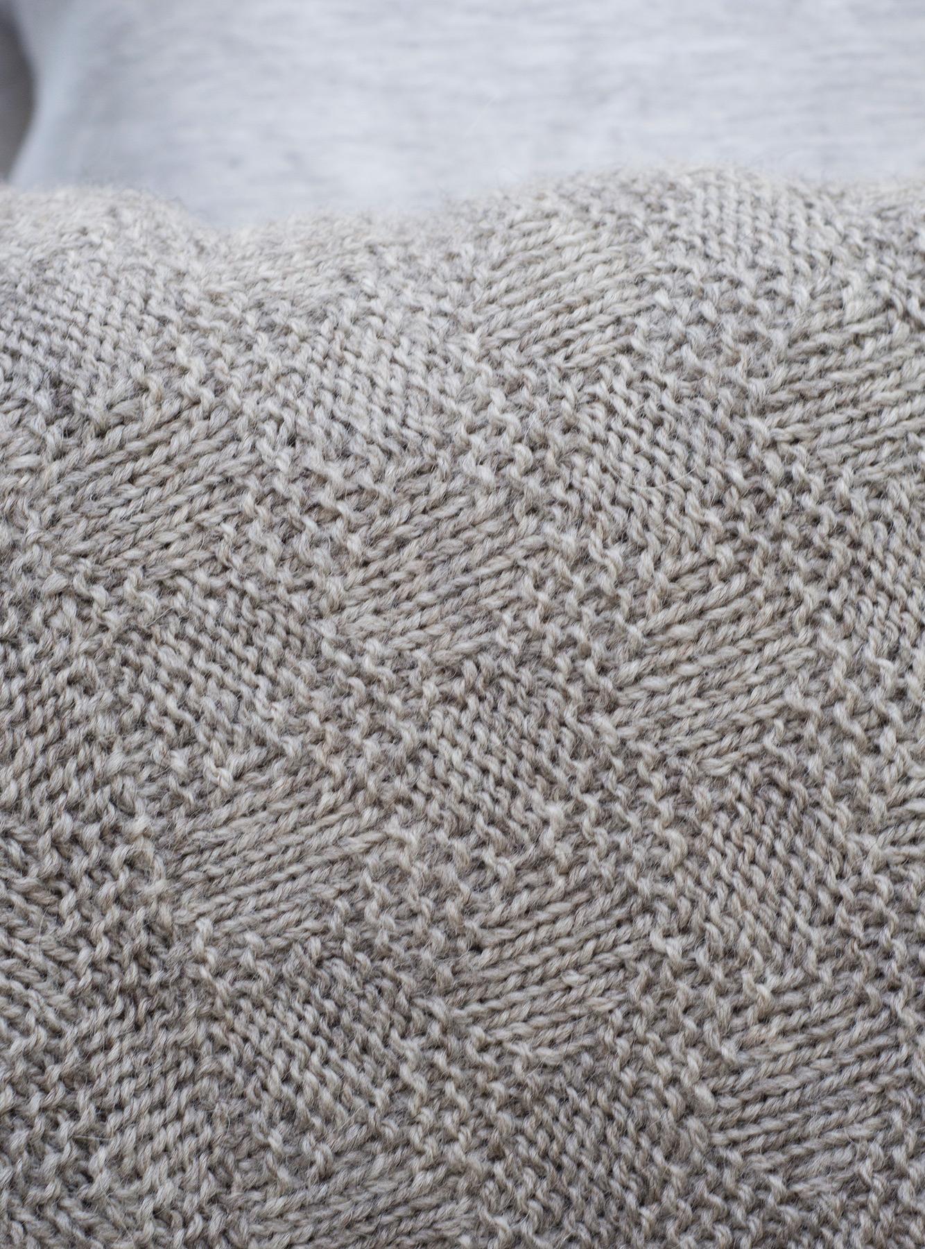Closeup of shawl