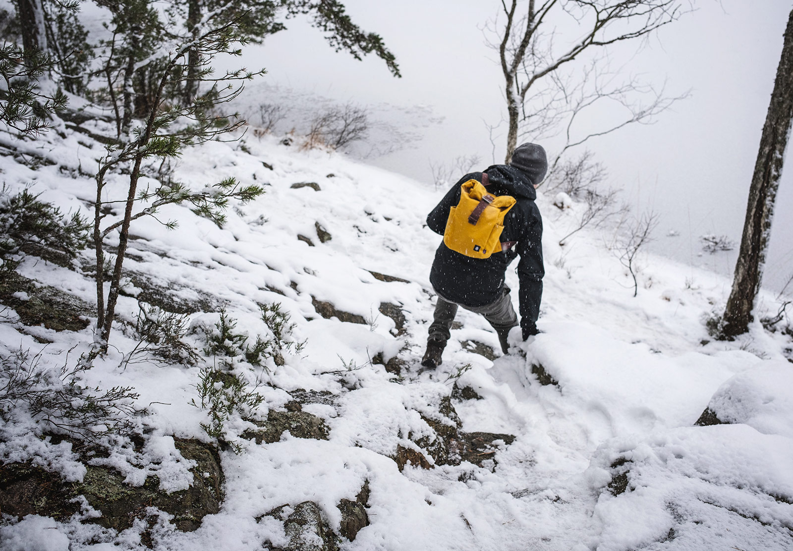 Can scrambling in snow