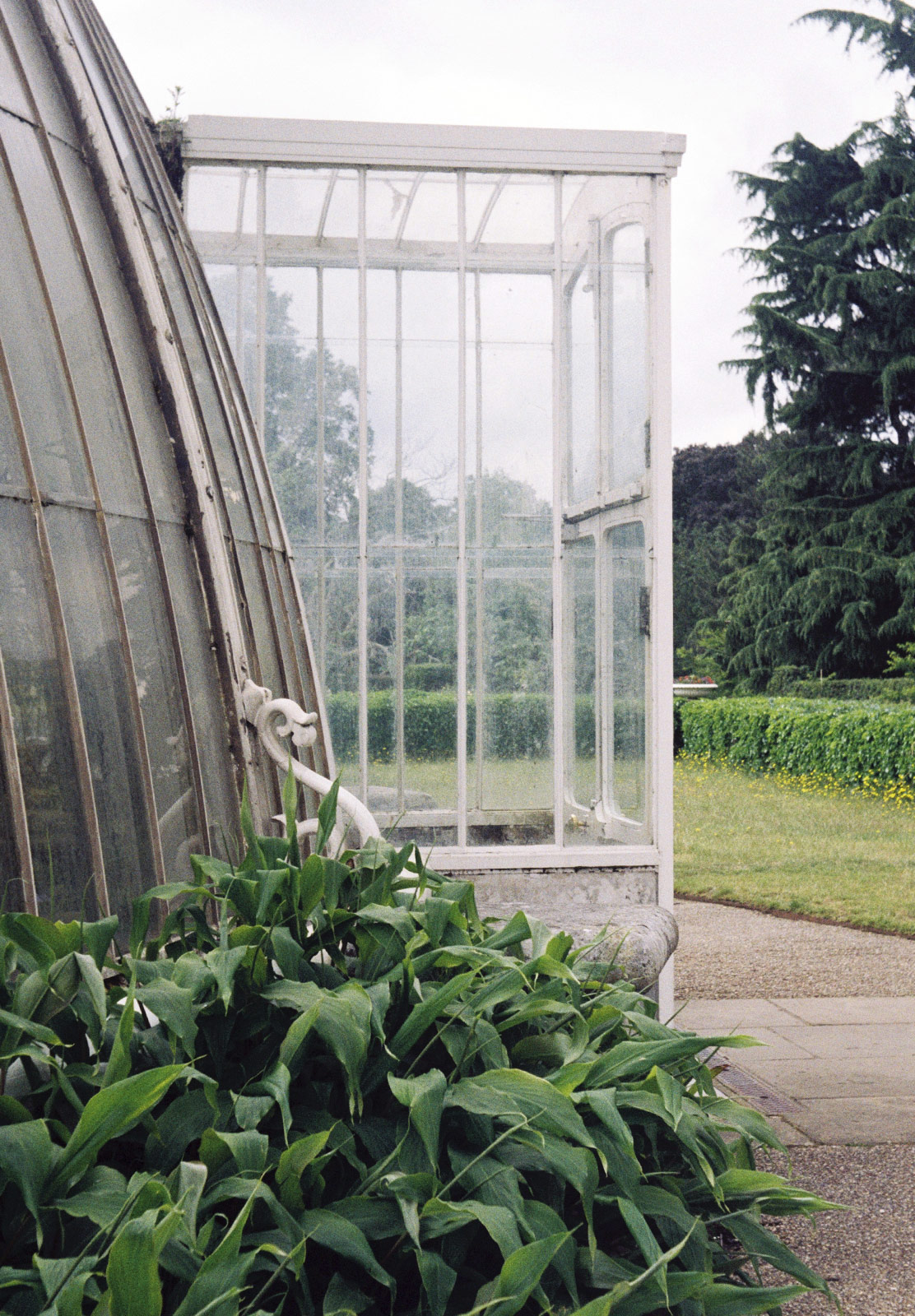 Glasshouse entrance