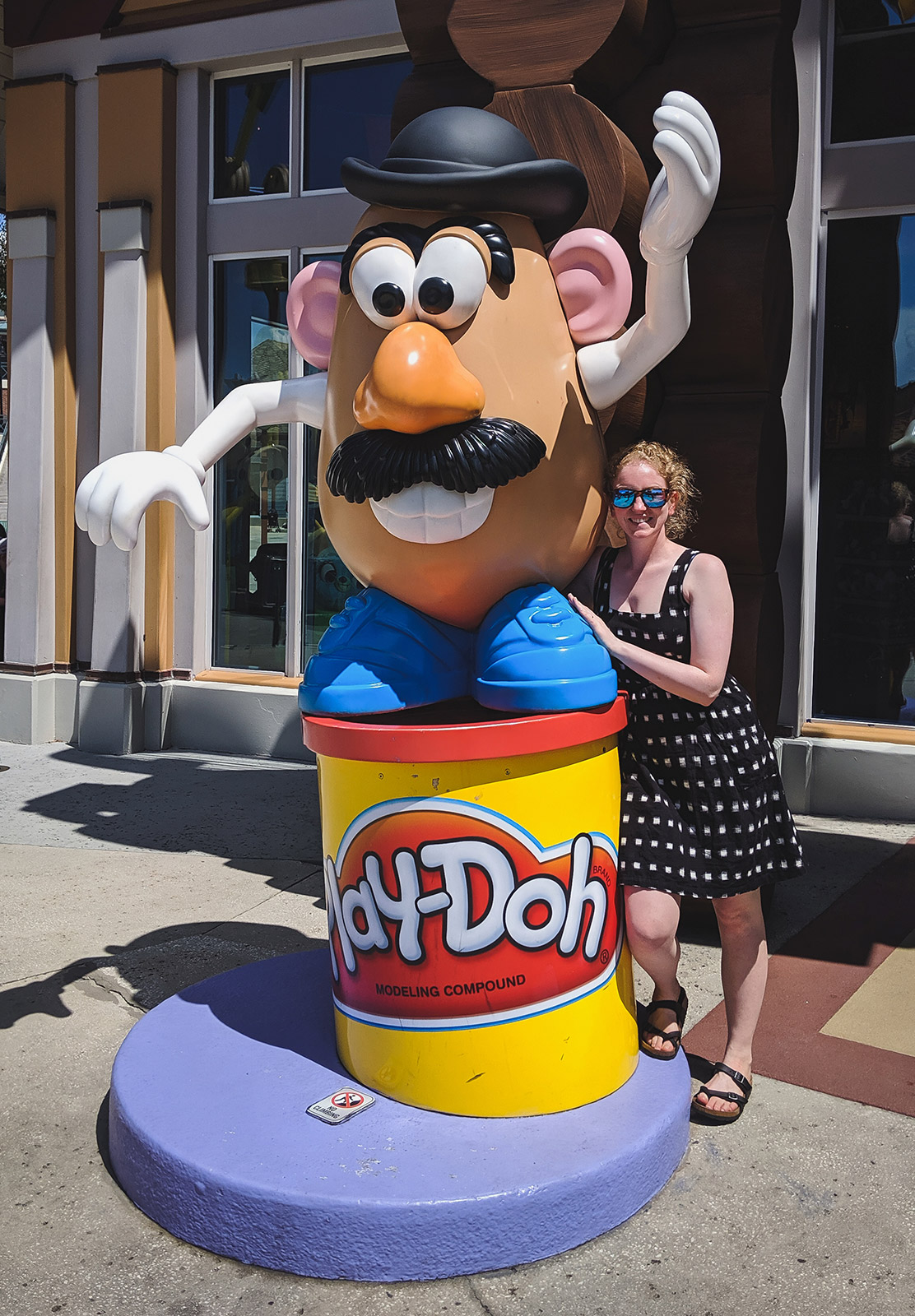 Mr. Potato Head statue