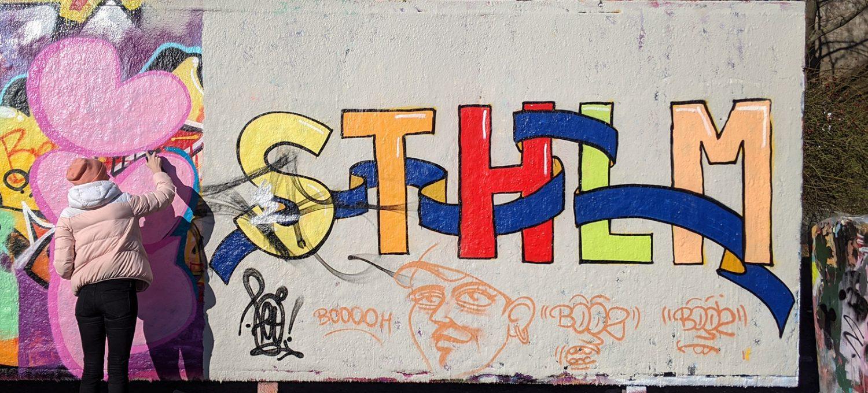 Stockholm graffiti