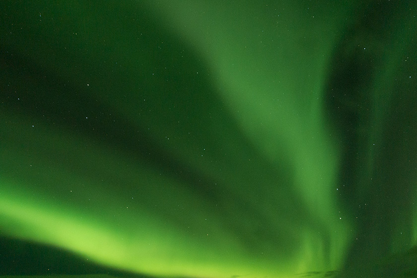Wispy Northern Lights