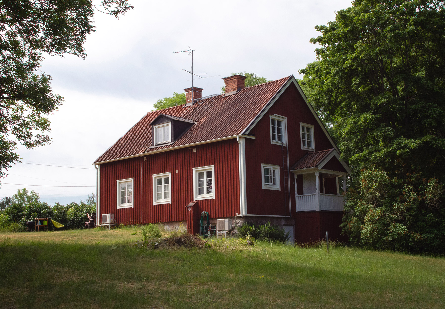 Swedish wooden house