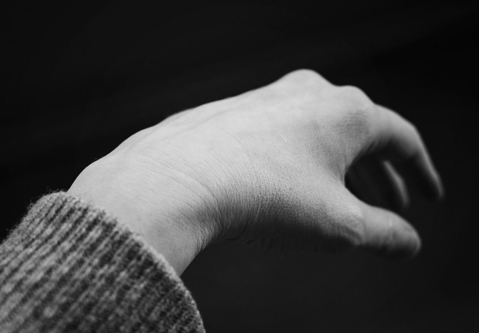 Lines on wrist