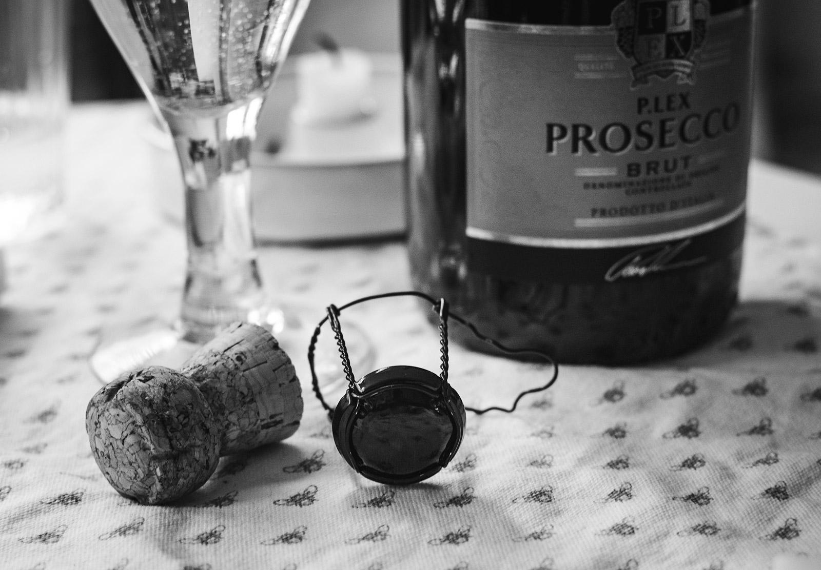 Prosecco cork