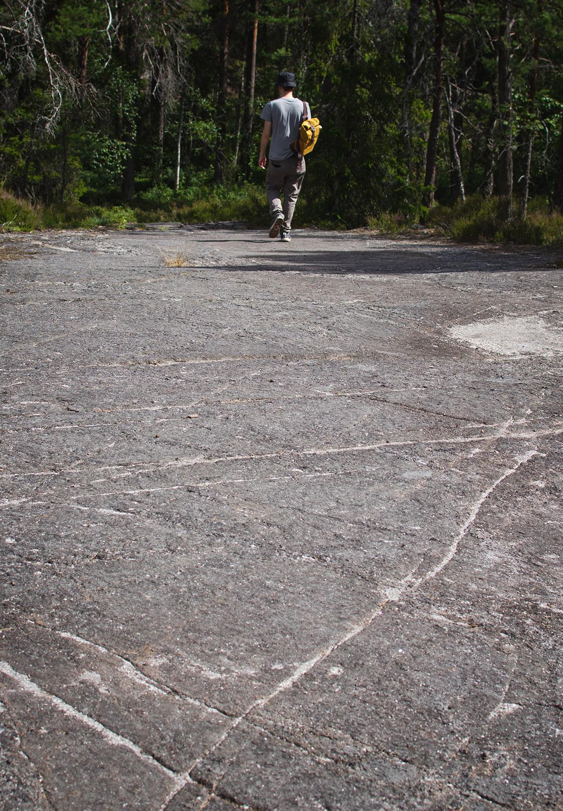 Big slab of rock