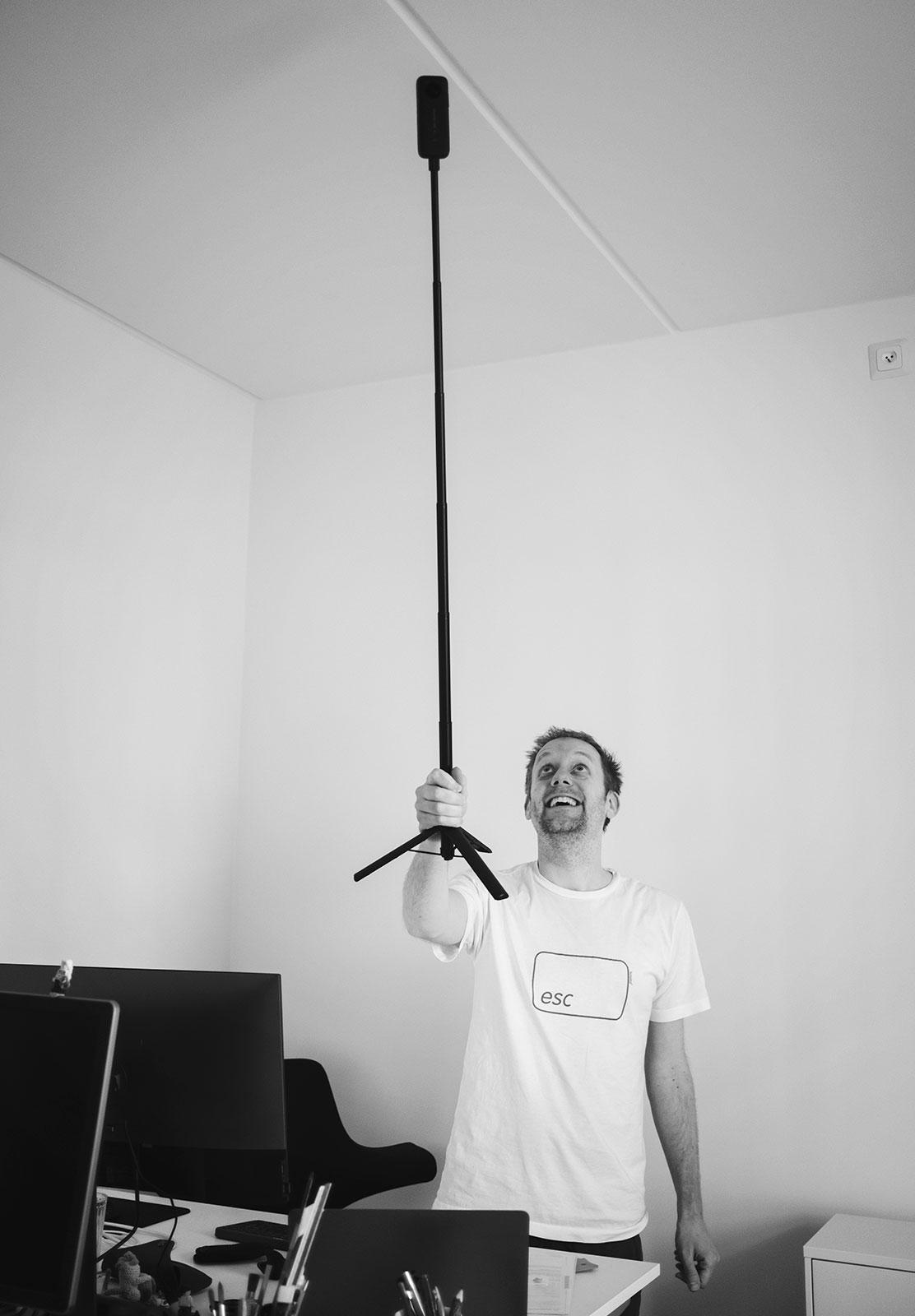 Tall tripod