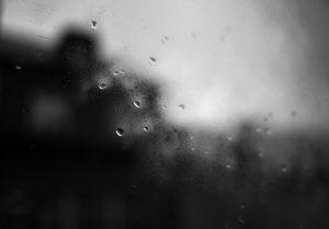 Mist on a window