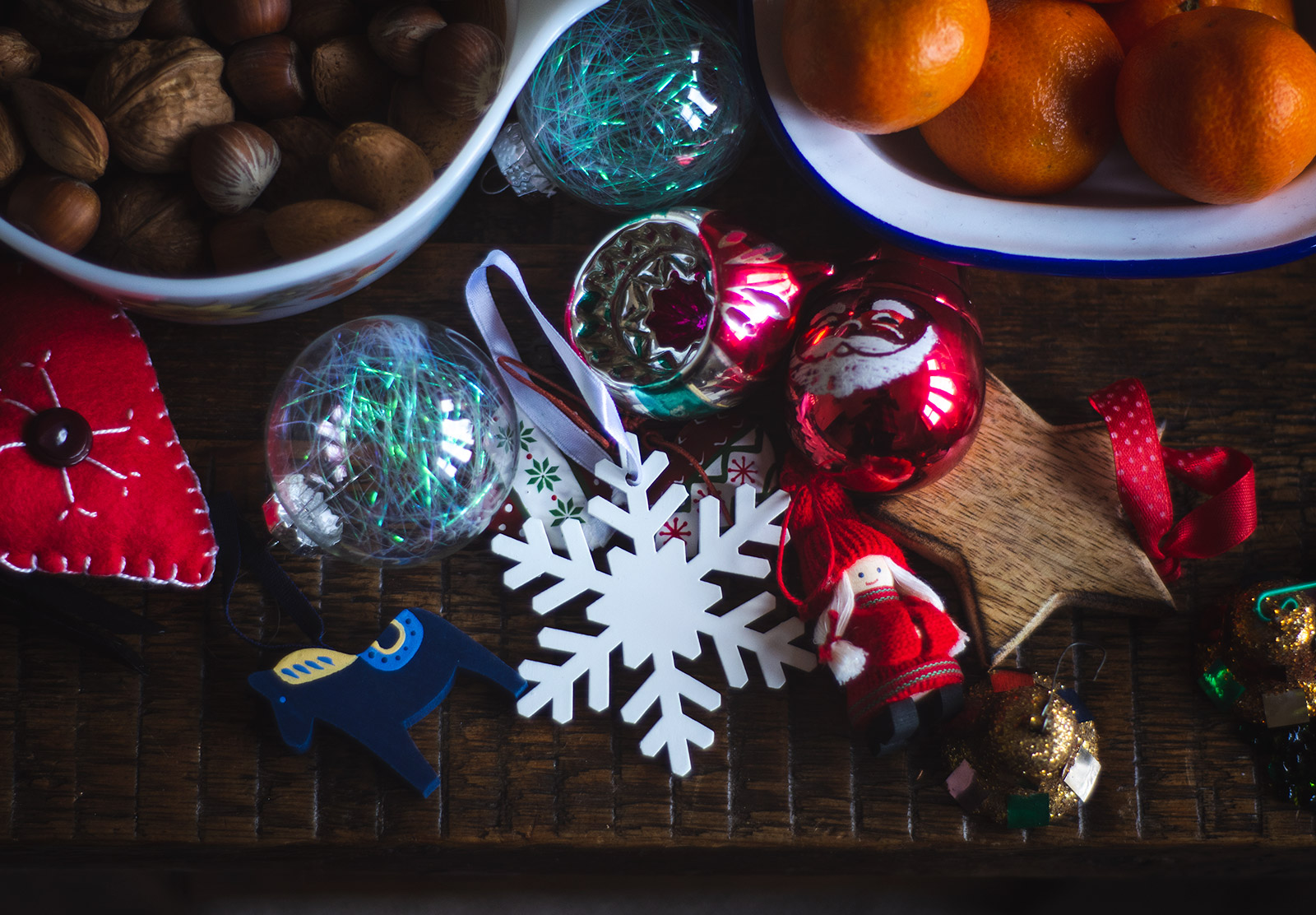 Assortment of ornaments